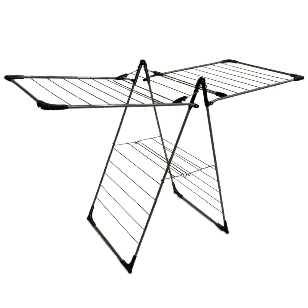 Calitek Winged Indoor Clothes Airer Deluxe Grey 14m